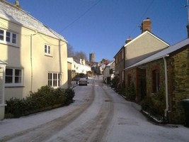 Fore Street in the Snow